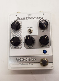 SubDecay Echobox Modulated Delay Guitar Effect Pedal - Previously Owned