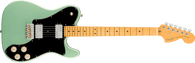 Fender  American Professional II Telecaster® Deluxe, Maple Fingerboard, Mystic Surf Green w/ Deluxe Molded Case