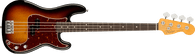 Fender  American Professional II Precision Bass®, Rosewood Fingerboard, 3-Color Sunburst w/ Deluxe Molded Case