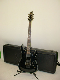 2008 Schecter Hellraiser FR Electric Guitar - Floyd Rose Gloss Black - Previously Owned