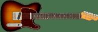 Fender  American Professional II Telecaster®, Rosewood Fingerboard, 3-Color Sunburst w/ Deluxe Molded Case