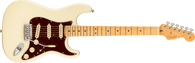 Fender  American Professional II Stratocaster®, Maple Fingerboard, Olympic White w/ Deluxe Molded Case