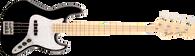 Fender U.S.A. Geddy Lee Jazz Bass®, Maple Fingerboard, Black w/ ABS Molded Case