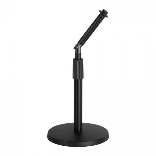 On Stage Adjustable Desktop Mic Stand with Rocker-Lug