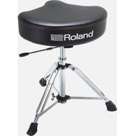 Roland Hydraulic Saddle Drum Throne - Vinyl Top - Firm Foam