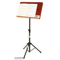 On Stage Music Stand w/ Wide Rosewood Bookplate
