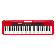 Casio Casiotone CT-S200 61-key Portable Arranger Keyboard - Red