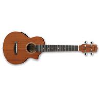 Ibanez UEW5E All-Mahogany Concert Acoustic-Electric Ukulele Natural
