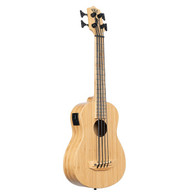 Kala U-Bass Bamboo Acoustic-Electric Bass Ukulele - Natural