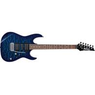 Ibanez Gio GRX70QA Electric Guitar - Transparent Blue Burst