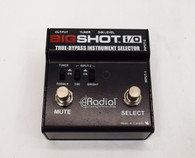 Radial Big Shot I/O True-Bypass Instrument Selector Pedal - Previously Owned