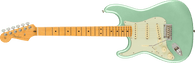 Fender American Professional II Stratocaster® Left-Hand, Maple Fingerboard, Mystic Surf Green w/ Deluxe Molded Case