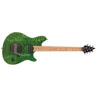 EVH Wolfgang® Standard QM, Baked Maple Fingerboard, Transparent Green
