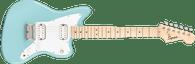 Fender Squier Mini Jazzmaster® HH, Maple Fingerboard, Daphne Blue