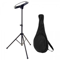 On Stage Drum Practice Pad with Stand and Bag