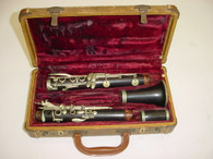 Vintage Martin Freres LaMonte Model 1 Grenadilla Bb Clarinet - AS IS NOT WORKING - Previously Owned