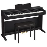 Casio AP-270 Celviano Digital Upright Piano with Bench - Black