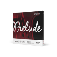 D'Addario Bow J61034M D'Addario Prelude Bass String Set, 3/4 Scale, Medium Tension