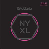D'Addario NYXL0942 Nickel Plated Electric Guitar Strings, Super Light,09-42 – High Carbon Steel