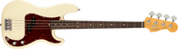 Fender American Professional II Precision Bass®, Rosewood Fingerboard, Olympic White