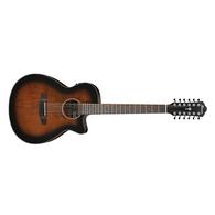 Ibanez AEG5012DVH Acoustic-Electric 12-String Guitar (Dark Violin Sunburst)