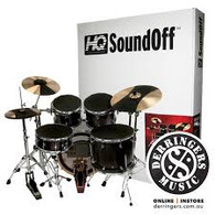 Evans SoundOff Complete Set Drum and Cymbal Mutes