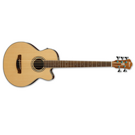 Ibanez AEB105E Acoustic-Electric Bass - Natural High Gloss