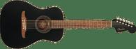 Fender  Joe Strummer Campfire, Walnut Fingerboard, Matte Black w/ Gigbag