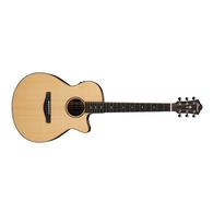 Ibanez AEG200LGS Acoustic-Electric Guitar (Natural)