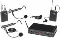 Samson SWC288PRES-H Concert 288 Presentation Dual-Channel Wireless System