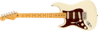 Fender  American Professional II Stratocaster® Left-Hand, Maple Fingerboard, Olympic White w/ Deluxe Molded Case
