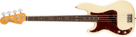 Fender American Professional II Precision Bass® Left-Hand, Rosewood Fingerboard, Olympic White w/ Deluxe Molded Case