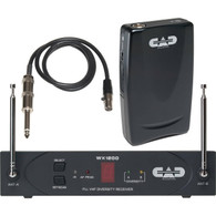 CAD StagePass WX1210GTR Wireless Guitar System - Discontinued