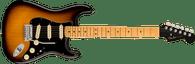 Fender Ultra Luxe Stratocaster®, Maple Fingerboard, 2-Color Sunburst w/ Deluxe Hardshell Case