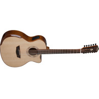 Washburn Comfort Deluxe Series G15SCE-12 String Acoustic