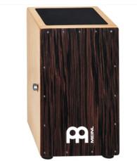 Meinl Modern Snare Cajon - Ebony Frontplate CAJ1EB-M