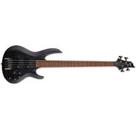 ESP LTD B-204SM Bass Guitar - See Thru Black Satin