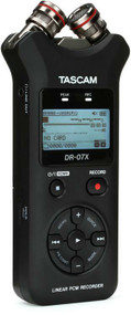 TASCAM DR-07X Stereo Handheld Recorder / USB Interface