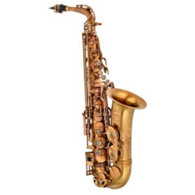 """P. Mauriat """"Influence"""" Professional Alto Saxophone, Raw Brass / Unlacquered"""