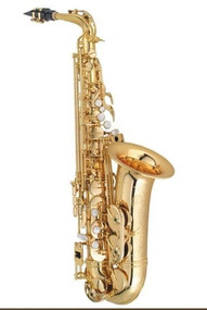 P. Mauriat System 76 Alto Saxophone, Gold Lacquer, Outfit