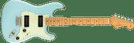 Fender Noventa Stratocaster®, Maple Fingerboard, Daphne Blue w/ Deluxe Gigbag