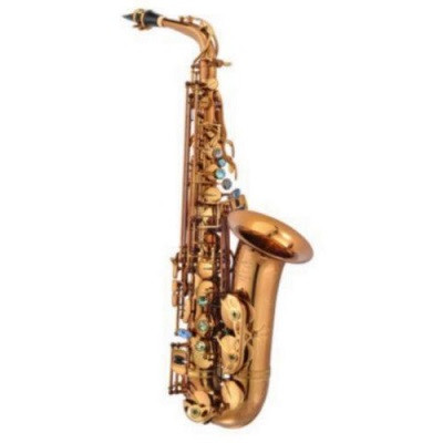 P. Mauriat Professional Alto Saxophone, Rolled Tone Holes, Cognac Lacquer, Outfit