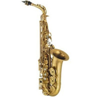 P. Mauriat Professional Alto Saxophone, Rolled Tone Holes, Unfinished, Outfit