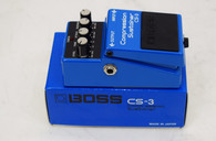 Boss CS-3 Compression Sustainer Effect Pedal - MIJ Black Label -  Previously Owned