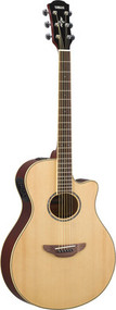Yamaha APX600NA Thinline Cutaway Acoustic-Electric Guitar (Natural)