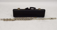 E.L. Deford Elkhart Silver Body Open-Hole Flute w/ Case - Previously Owned