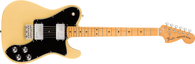 Fender Vintera® '70s Telecaster® Deluxe, Maple Fingerboard, Vintage Blonde w/ Deluxe Gigbag