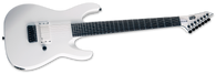 ESP LTD M-7BHT Baritone Arctic Metal, 7-String, Snow White Satin
