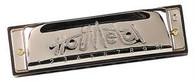Hohner 572BXA Hot Metal Harmonica - A