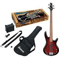 Ibanez Ibanez IJSR190N Electric Bass Jumpstart Pack Walnut Sunburst